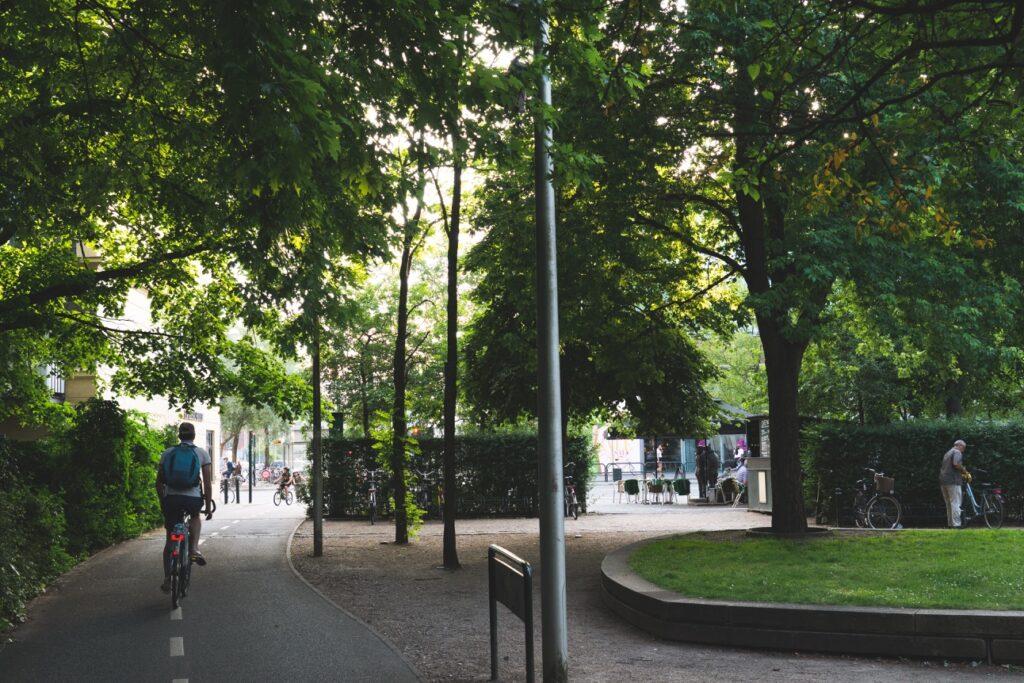 cykelsti på Frederiksberg
