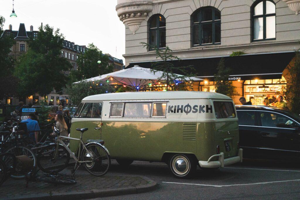 Kihoskh bil ved Sønder Boulevard på Vesterbro